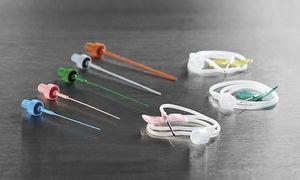 IV injection needle / safety