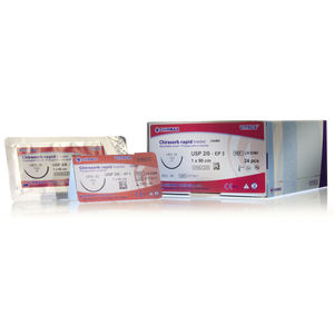 short-term absorbable suture thread / oral surgery / ophthalmic surgery / pediatric general surgery