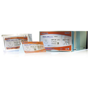 absorbable suture thread / ophthalmic surgery / pediatric general surgery