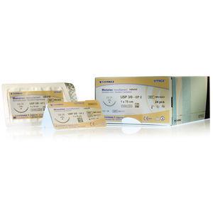 mid-term absorbable suture thread