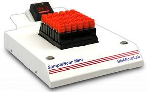 tube barcode scanner