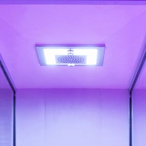 cabin hydromassage shower / with chromotherapy lamps