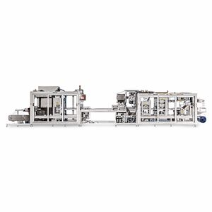 automatic packaging system / film / medical / for sterile materials