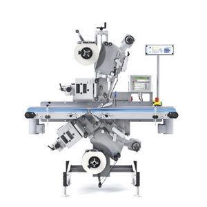 conveyor belt labeler / automatic / linear