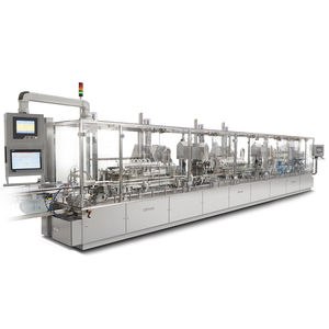 automatic filler / peristaltic / intermittent-motion / compact
