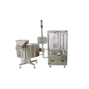 automatic packaging machine / compact / floor-standing / for the pharmaceutical industry