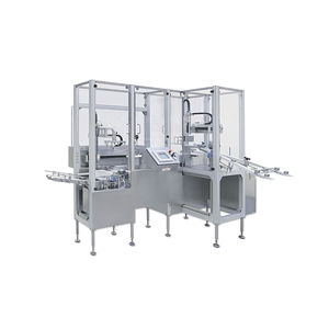intermittent packaging machine / compact / horizontal / for the pharmaceutical industry