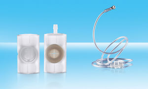 patient breathing circuit heat and moisture exchanger