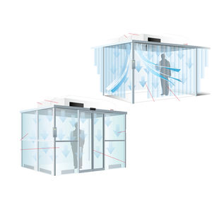 clean room / stainless steel / aluminum frame