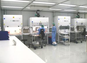 clean room / laboratory room / modular / integrated