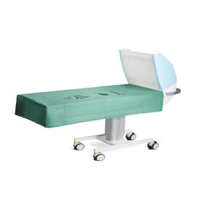instrument table on casters / height-adjustable / electric