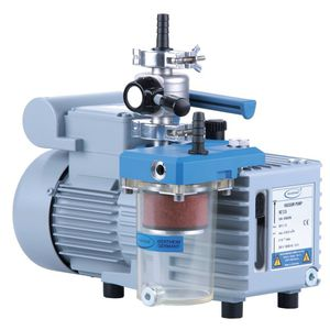 laboratory vacuum pump / rotary vane / high-performance