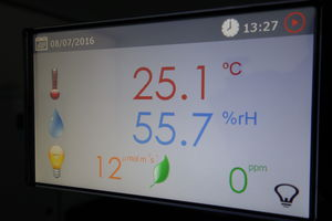 temperature controller / multi-function / flow / humidity