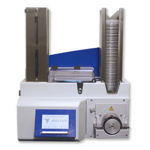 automatic filler / compact / laboratory / for production