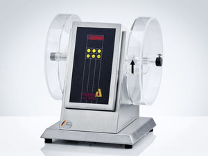 friability tester / for tablets / benchtop / double-drum