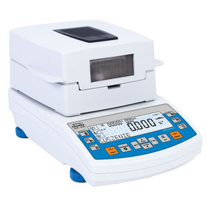 electronic moisture analyzers / for the pharmaceutical industry / with LCD display / benchtop