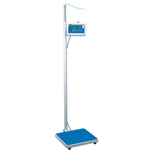 electronic patient weighing scales / home / fitness / with LCD display
