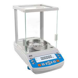precision laboratory balances / analytical / with digital display / benchtop