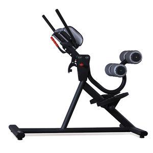 lumbar extension weight training bench