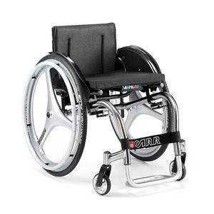 active wheelchair / outdoor / indoor / with legrest