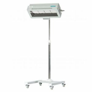 infant warmer on casters / height-adjustable