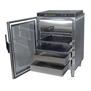 fluid cabinet / operating room / with shelf / 1-door