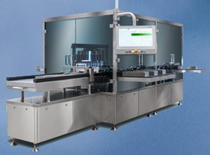 automatic inspection system / for ampoules / for vials / high-speed