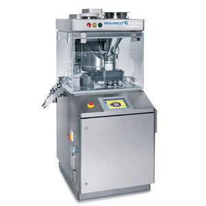 tablet press / for the pharmaceutical industry / compact / rotary