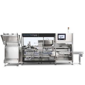 tube filler / fully-automatic / compact / for the pharmaceutical industry