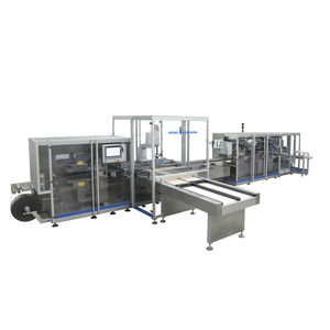 blister packaging machine / continuous / horizontal / for the pharmaceutical industry