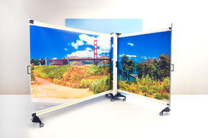 portable hospital privacy screen
