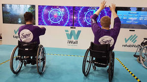 virtual rehabilitation system with serious games / children