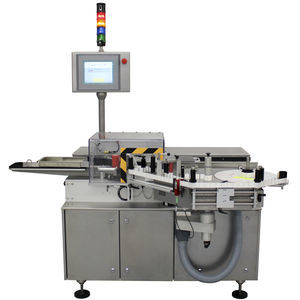 bottle labeling machine / for vials / automatic / in-line