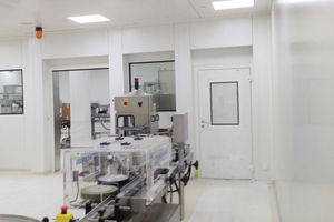 clean room wall structure / for the medical industry / for the pharmaceutical industry