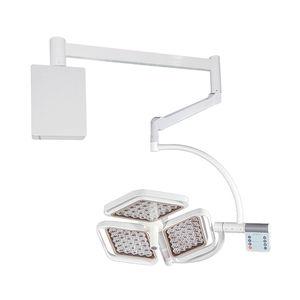 wall-mounted surgical light / modular / LED