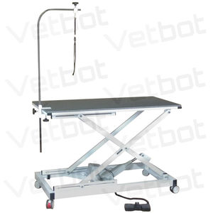 height-adjustable grooming table / electric
