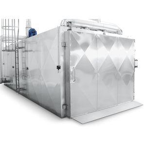 ethylene oxide sterilizer / medical / for the pharmaceutical industry / floor-standing