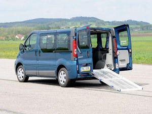 car wheelchair ramp