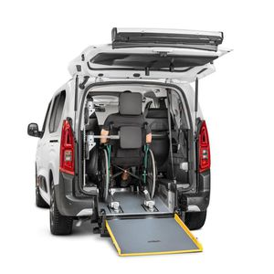minivan wheelchair accessible vehicle