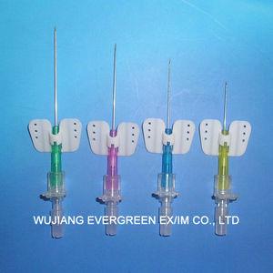 infusion needle catheter / venous / human