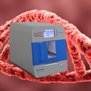 nucleic acid extraction laboratory workstation / for DNA and RNA preparation / automatic / liquid-liquid extraction
