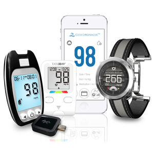 monitoring software / diabetes management / homecare / for smartphones