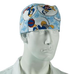 men's scrub cap / medical / surgical / protective
