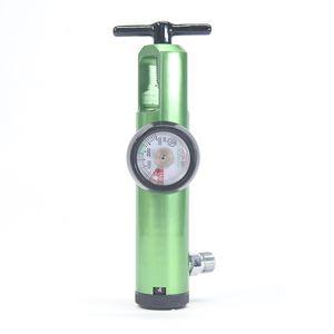 oxygen pressure regulator / adjustable-flow / plug-in type / quick-connect