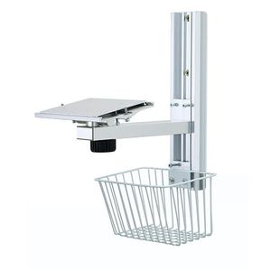 wall-mounted monitor mount / rail-mounted / medical / surgical