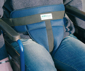 wheelchair fixation strap / pelvic