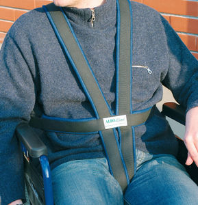 wheelchair fixation strap / body