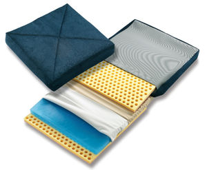 seat cushion / for wheelchairs / for people with reduced mobility / visco-elastic foam