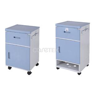 bedside cabinet on casters