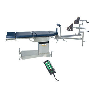 orthopedic operating table / electric / height-adjustable / on casters